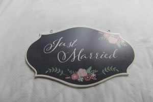 just-married-floral
